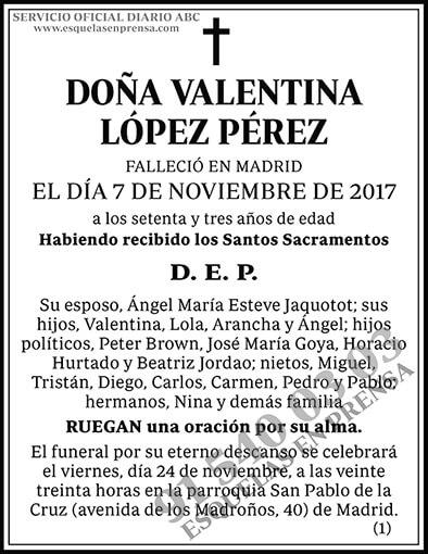 Valentina López Pérez